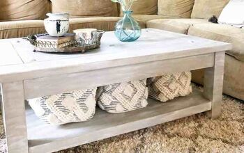 How to Chalk Paint a Coffee Table