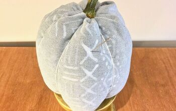 Custom Fabric Pumpkin Decor
