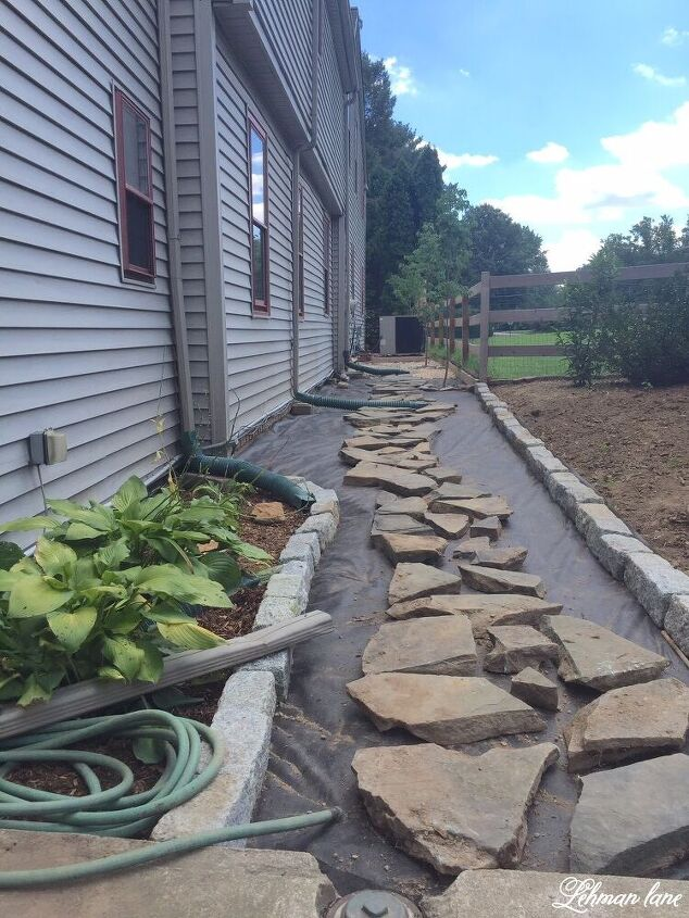 diy stone walkway
