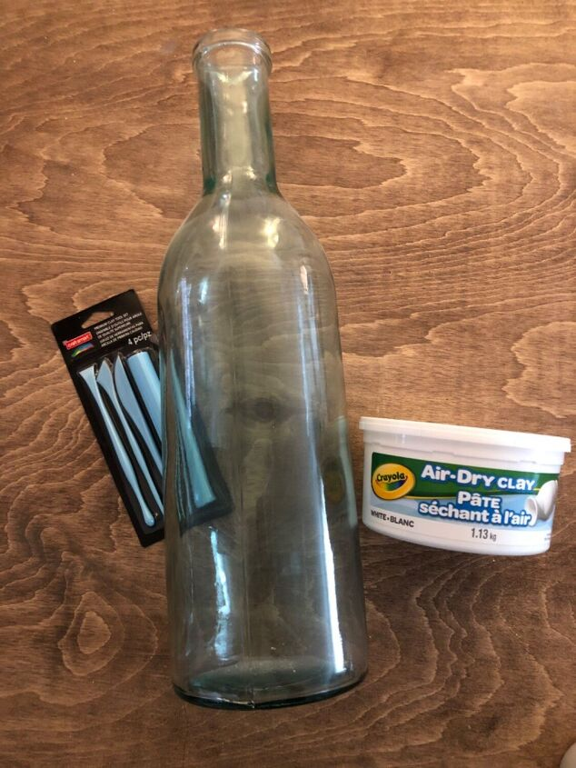 air dry clay vase