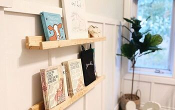 IKEA Inspired Book Ledge