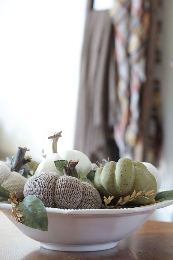 how to turn old sweaters into diy fabric pumpkins