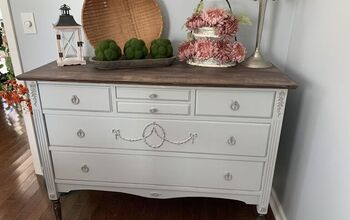 Vintage Sideboard From Drab to Fab! Using Retique It Products