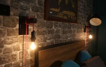 These Industrial Lights Are SO Simple To Make!!