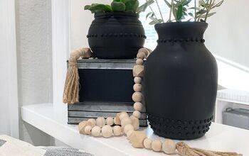 Pottery Barn Inspired Vases