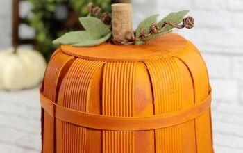 DIY Pumpkin Bushel Basket