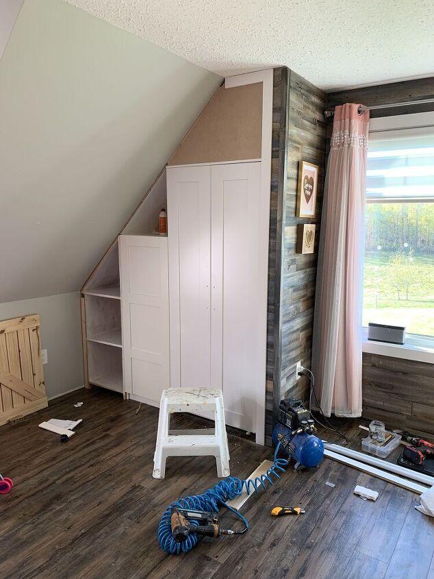 girls bedroom transformation