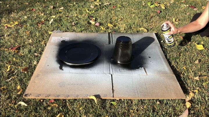 thanksgiving pilgrim hat centerpiece