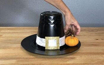 Thanksgiving Pilgrim Hat Centerpiece