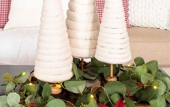 How to Make Cozy Christmas Trees