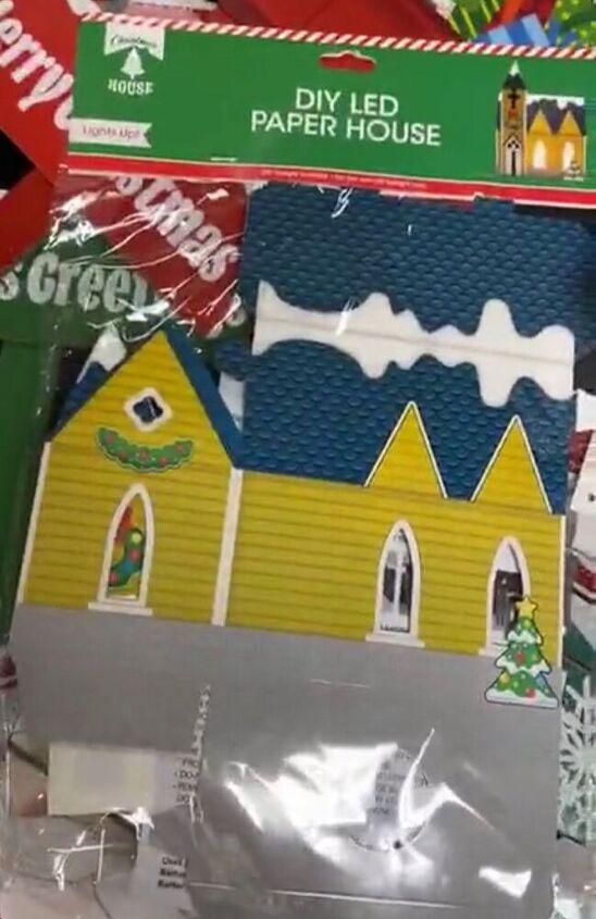 christmas paper village diy