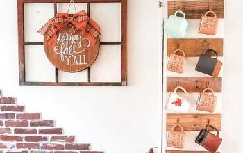How to Make a Pallet Mug Rack in 3 Easy Steps