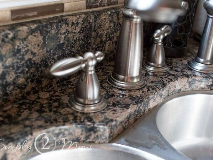 how to remove hard water stains from granite