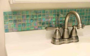 Easy DIY Removable Tile Backsplash (with Real Tile!!)