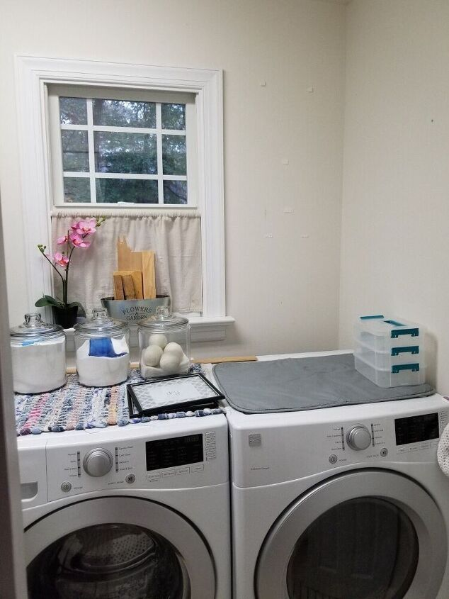q how to improve the laundry room