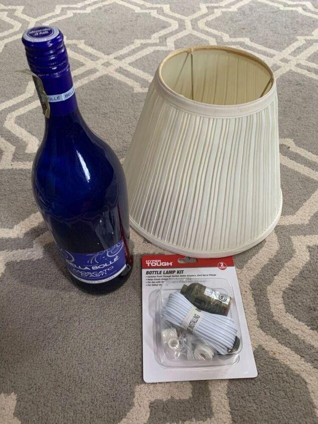 simple bottle lamps