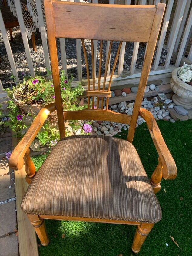 easy chair diy makeover