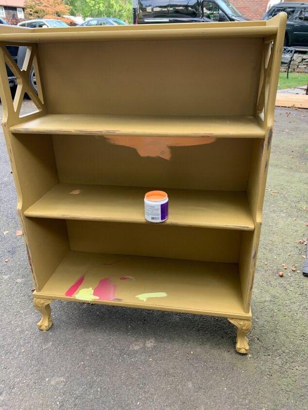 shelf diy upgrade painted shelf