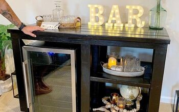 Rustic Fridge Bar / Coffee Bar