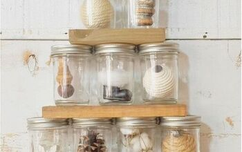 Mason Jar Tree With Farmhouse Style