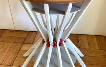 Clothes Hanger Side Table