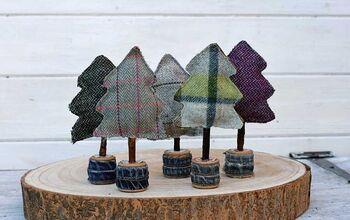 Upcycled Scottish Tree Decoration