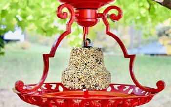 Upcycle Your Old Light Fixture Into The Perfect Bird Feeder!