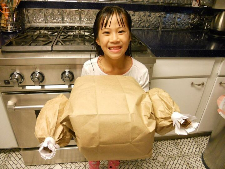 paper bag turkey no oven required