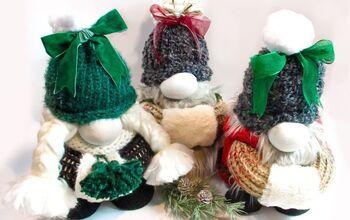 How to Make a Winter Gnome
