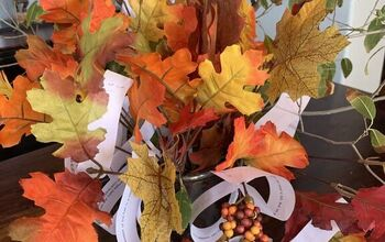 A Thanksgiving Thankful Tree - A Centerpiece to Give Thanks!