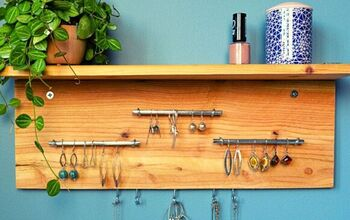 How to Make a Wall Mounted Jewelry Holder