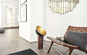Make a Floor Lamp From Salad Bowl