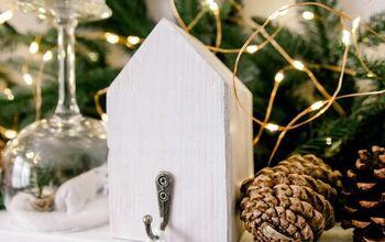 Easy Wooden Houses Stockings Holders