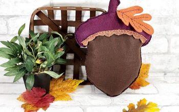 Autumn Acorn Pillow