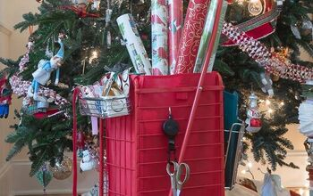 Wrapping Paper Organizer Cart