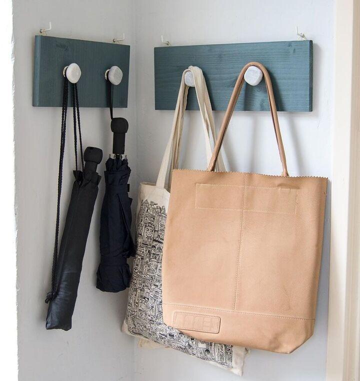 diy coat hooks for more order in the house