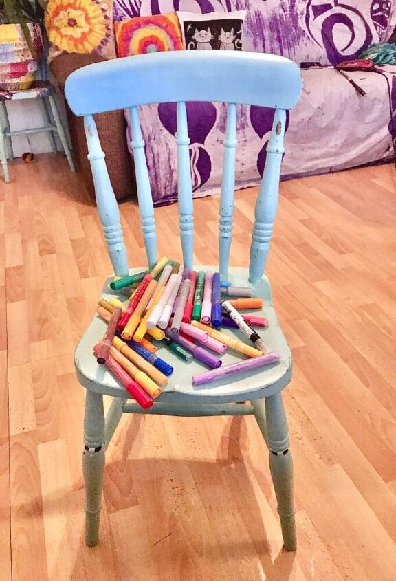 Chair ready to paint
