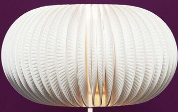 Lamp Made of Paper Plates
