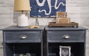 Whitewashed Nightstands