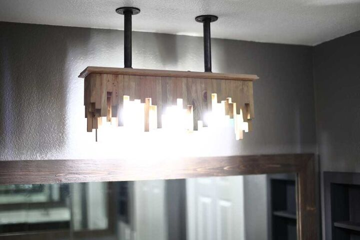 how to build a diy bathroom ceiling light fixture