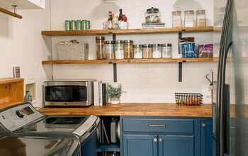 Before and After of Our Complete Pantry Makeover