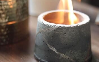 Make Your Own Mini Firepit Out of Recycled Objects