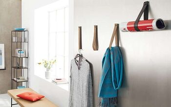 Build a Leather Loop Coat Rack Yourself