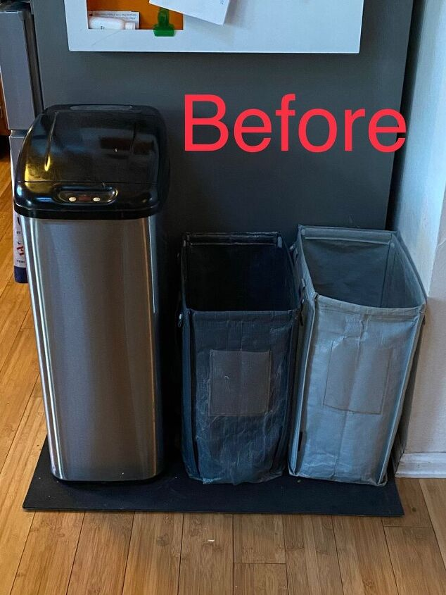recycling storage extra counter space upcycle
