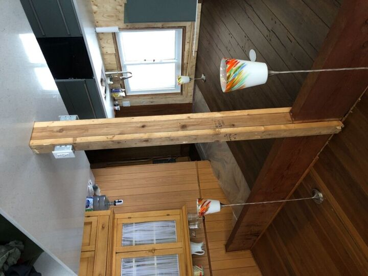 How Do I Finish A Support Stud In The Middle Of My Kitchen Island Hometalk