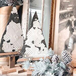 Tin Christmas Trees