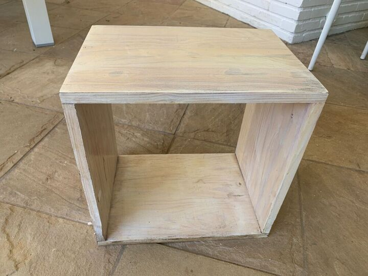 lazy woodworker s night stand from an old drawer