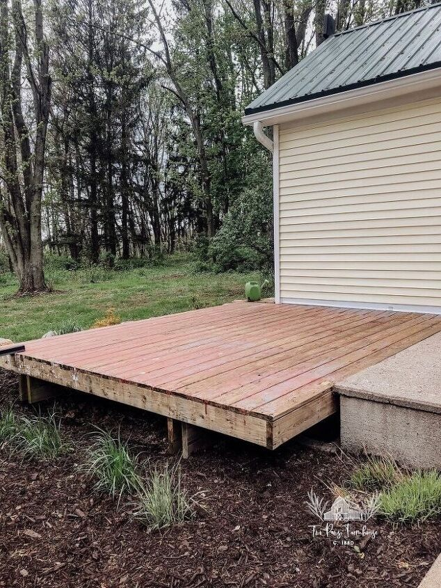 deck makeover build on a budget