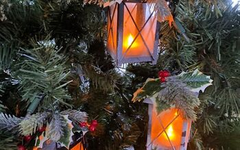 DIY Christmas Lantern Ornaments