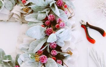 How to Make a Rustic Wreath for Your Front Door